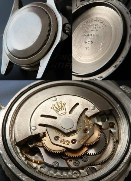 1960年ヒラメ伝説★ロレックス GMTマスター Ref.1675/Cal.1560★ミラーダイアルのサムネイル