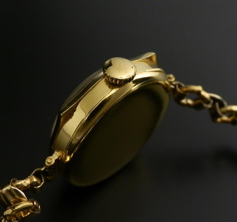 幻1920年代☆9金無垢シャンパンゴールド ヨーロピアンケース★ロレックス★Ref.4138/Cal.10 1/2のサムネイル
