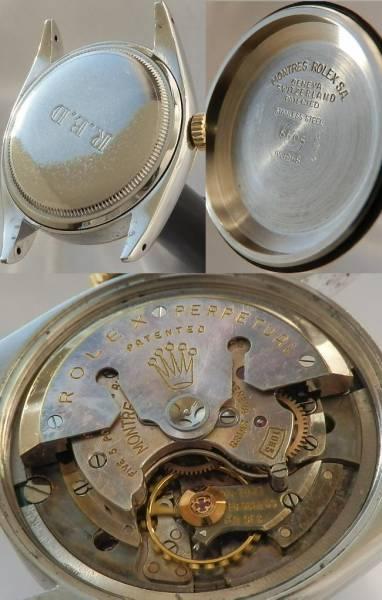 激希少5代目デイトジャスト★ロレックス Ref.6605★Cal.1065☆1958年製のサムネイル