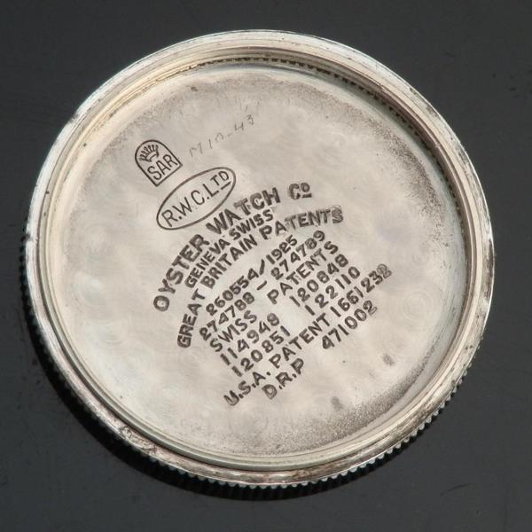 "★★★ R O L E X ★★★  CUSHION ENGINE BEZEL ""THE FIRST GENERATION WATERPRROF"" 1926's★防水セカンドモデル クッション ""エンジンベゼル"" 1925年頃製造  Ref.1072/Cal.10 1/2のサムネイル"