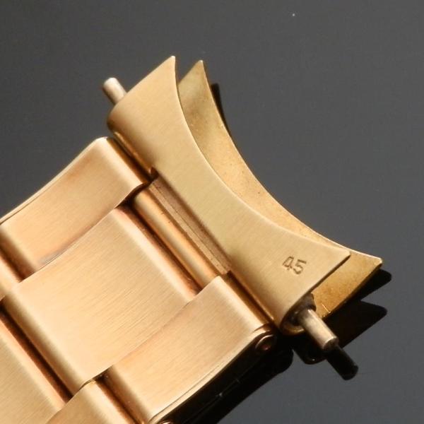 "★★★ R O L E X ★★★  18K Solid Gold ""OYSTER RIVET BRACELET"" Big Logo Full Links★18金無垢 ""オイスター3連リベット ブレスレット"" ビッグロゴ フル駒  Ref.7206/8 ・ FF.45のサムネイル"