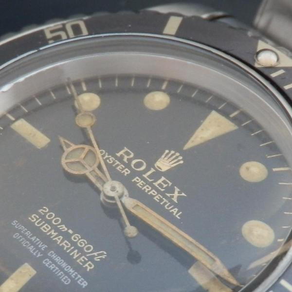 "★★★ R O L E X ★★★  Gilt Letter & GLOSSY DIAL ""TROPICAL BROWN""In Circa 1962's★ギルト文字&ミラーダイアル ""トロピカル ブラウン"" 1962年頃製造  SUBMARINER Ref.5512/Cal.1560のサムネイル"