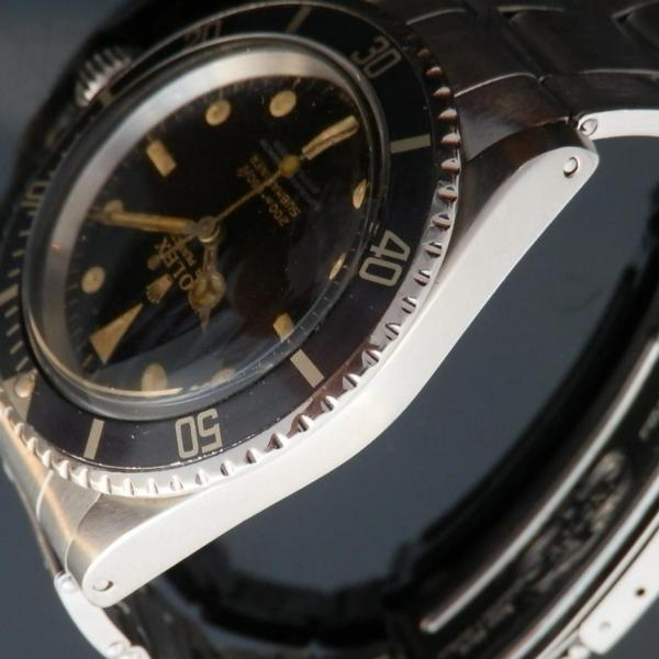 """★★★ R O L E X ★★★  Gilt Letter & GLOSSY DIAL """"TROPICAL BROWN""""In Circa 1962's★ギルト文字&ミラーダイアル """"トロピカル ブラウン"""" 1962年頃製造  SUBMARINER Ref.5512/Cal.1560のサムネイル"""