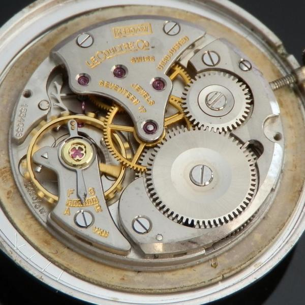 """★★★ LeCoultre(Jaeger-LeCoultre) ★★★  14K Solid White Gold """"Mystery Dial"""" Urtra Slim ★ 14金無垢ホワイトゴールド """"ミステリーダイアル"""" ウルトラスリム  Ref.182/Cal.480CWのサムネイル"""
