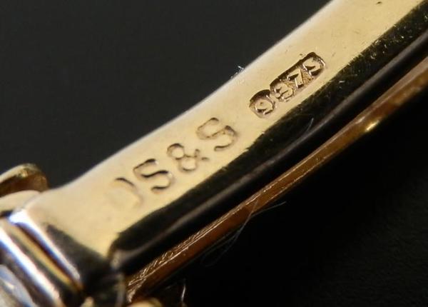 幻DS&S社9金無垢シャンパンゴールド★ロレックス キャタピラブレス★1974年頃 Cal.1400のサムネイル