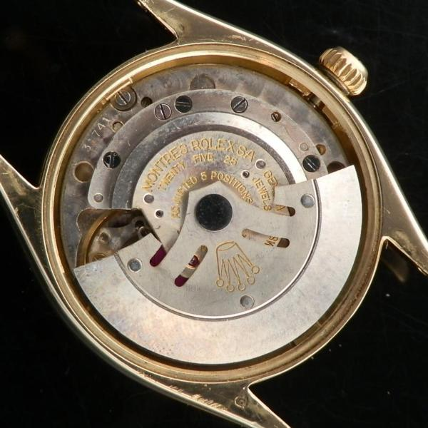 """★★★ R O L E X ★★★  1962'S OYSTER PERPETUAL COLLECTION FIFTEEN 15 – 14K SOLID GOLD """"REEDED BEZEL""""  1962年オイスターパーべチュアルコレクション15 -"""" 14金無垢 """"リーディッドベゼル""""  Ref.1007/Cal.1560のサムネイル"""