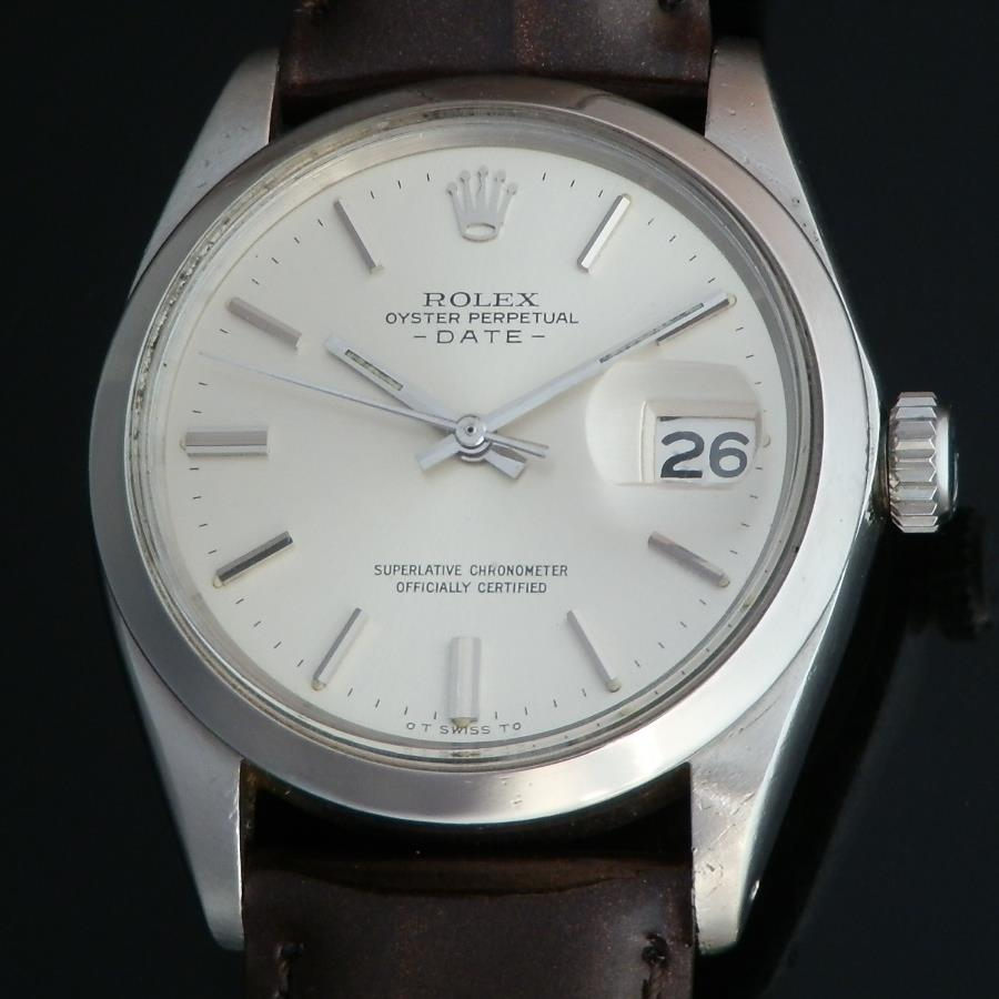 ★★★ ROLEX ★★★   OYSTER PERPETUAL DATE – SIGMA DIAL – STAINLESS STEEL★オイスター パーベチュアル デイト- シグマダイアル- ステンレススティール  Ref.1500/Cal.1570のサムネイル