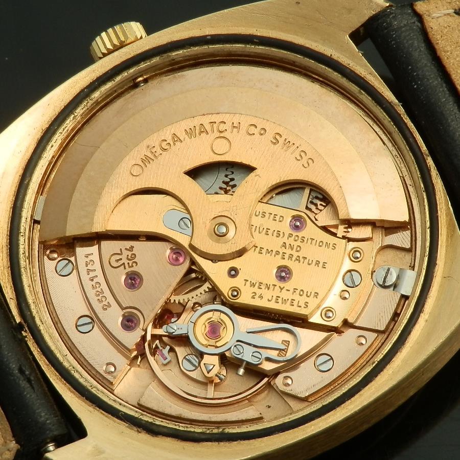 """★★★ ΩOMEGA ★★★  18K Solid Pink Gold """"Constellation"""" Quick Set Date 1'st Model★18金無垢ピンクゴールド """"コンステレーション"""" クイックデイトファーストモデル  Ref.168.9005/Cal.564のサムネイル"""