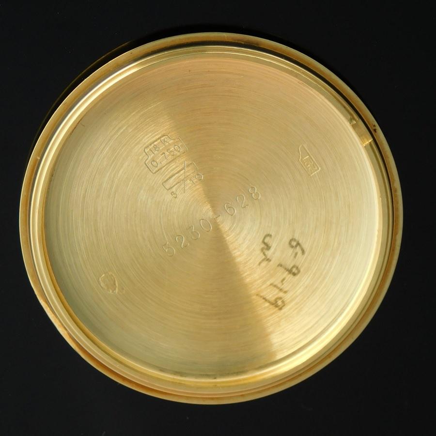 "★★★ LONGINES ★★★  All 18K SOLID Gold""HOUR ANGLE THE LINDBERGH""18K Beans☆オール 18金無垢 ""アワーアングル リンドバーグ"" 18金無垢純正ビーンズブレスレット  Ref.5230-628/Cal.628.1(ETA2892-2)のサムネイル"
