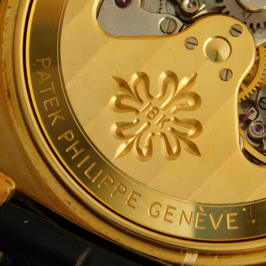 """★★★ PATEK PHILIPPE ★★★  18K Solid Gold """"CUSHION"""" Automatic Geneve seal☆18金無垢シャンパンゴールド """"ファットクッション""""自動巻 スモールセコンド  Ref.3525/Cal.27-460のサムネイル"""