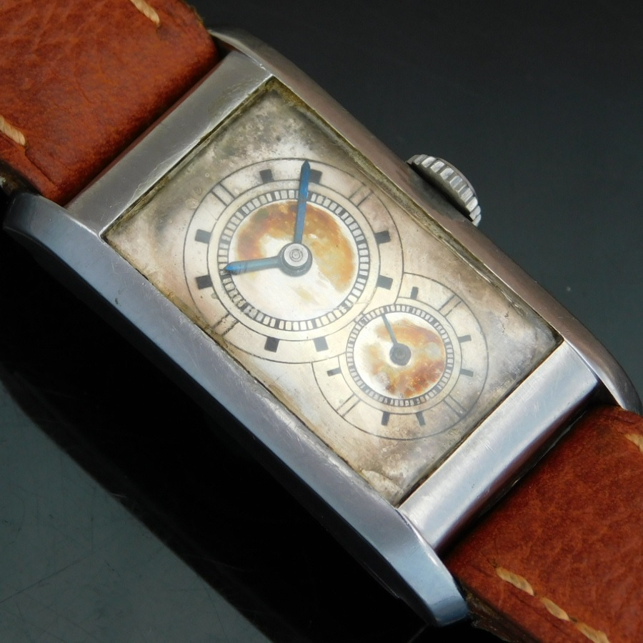"★★★ LONGINES ★★★  14K Solid Gold "" DOCTORS DUO DIAL "" In 1933's☆ ""ドクターデュオダイアル"" 1933年製造  Ref.3242/Cal.9.32のサムネイル"