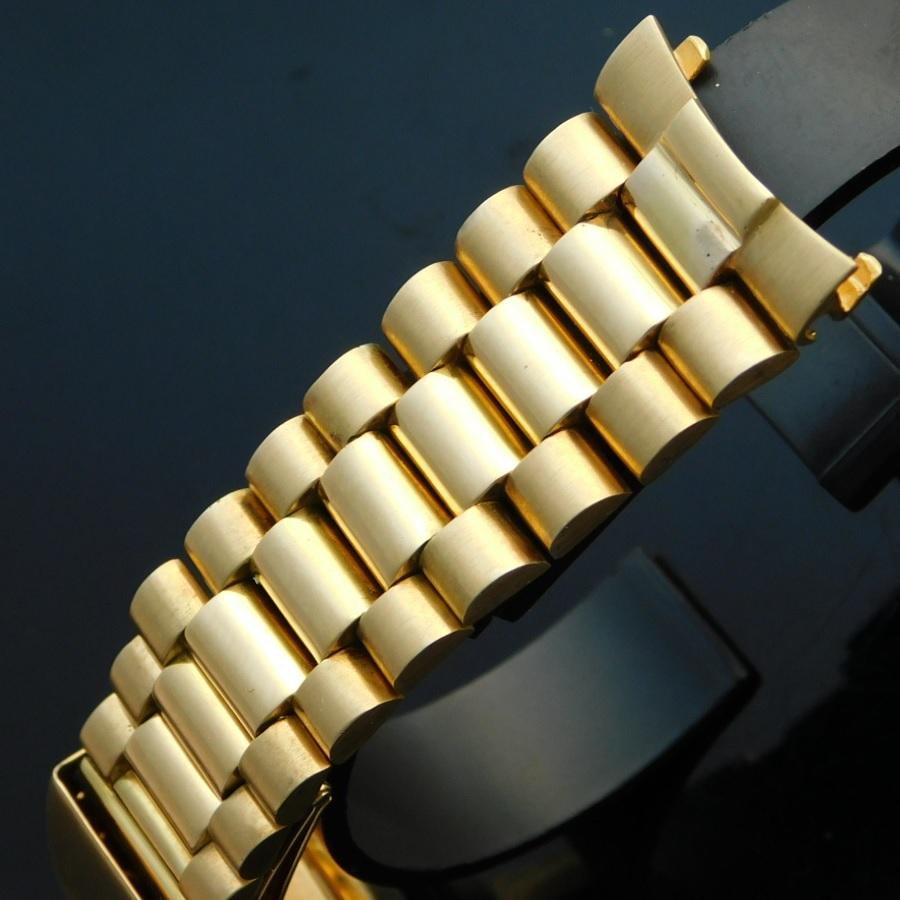 "★★★ R O L E X ★★★  18K Solid Gold ""PRESIDENT BRACELET"" Made in 1958★18金無垢シャンパンゴールド ""プレジデントブレスレット"" 1958年製造のサムネイル"