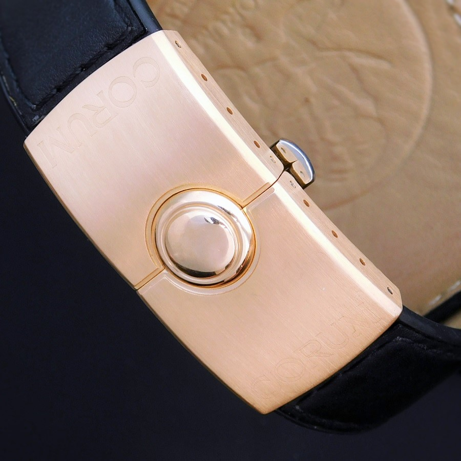 """★★★ CORUM ★★★18k Solid Pink Gold """"BUBBLE PRIVATEER"""" Limited Edition Size 66/99★18金無垢ピンクゴールド """"バブル プライべディア"""" 限定99本/エディションサイズ No.66  Ref.082.150.55/Cal.2892A2のサムネイル"""