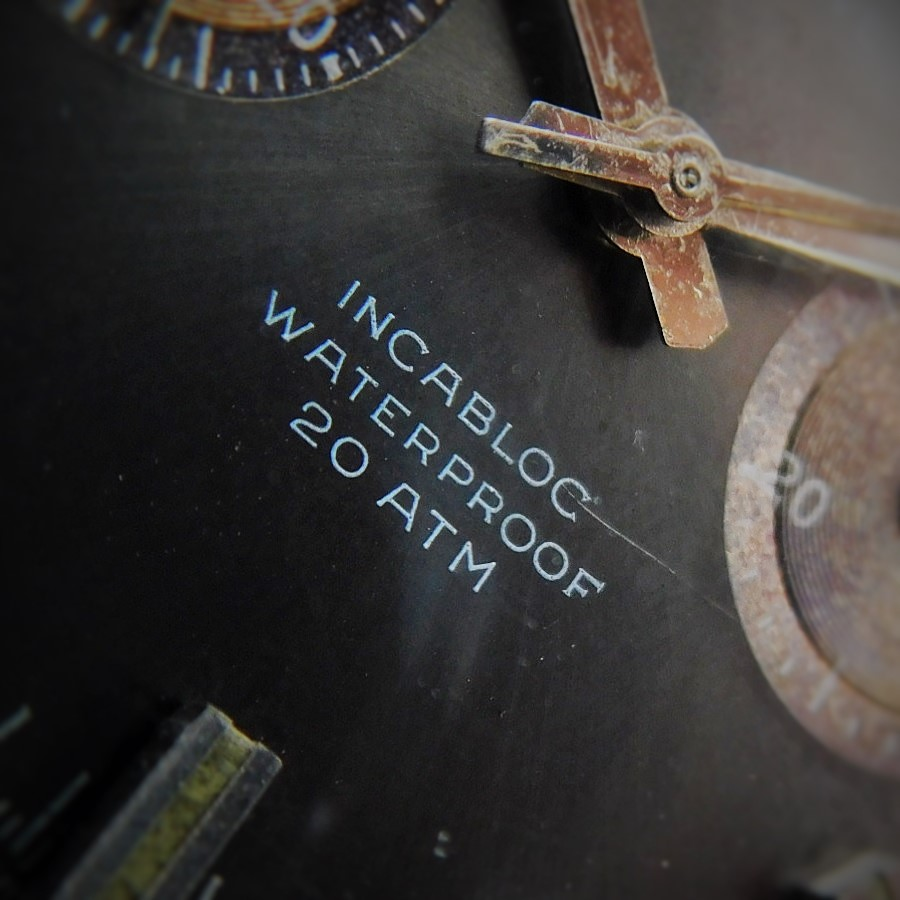 "★★★ BREITLING ★★★  20ATM WATERPROOF INCABLOC ""TOP TIME"" SCREW CHRONOGRAPH PUSHER☆20気圧防水(200M=660ft)、衝撃吸収構造 ""トップタイム"" ネジ込みクロノグラフプッシャー.竜頭  Ref.2122/Cal.7733のサムネイル"