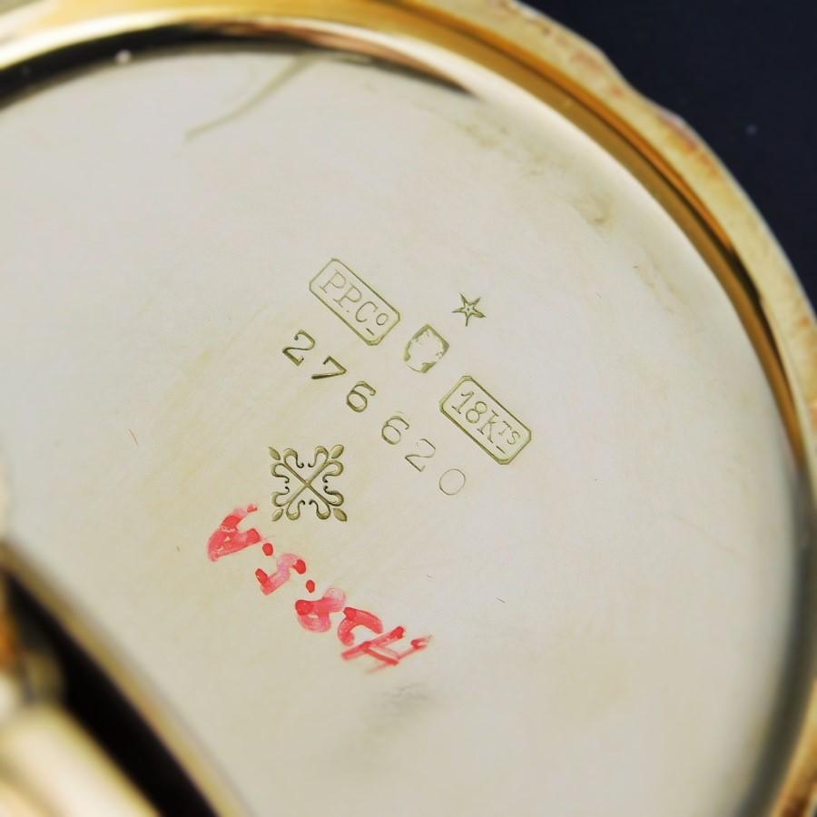 "★★★ PATEK PHILIPPE ★★★  47mm 18k Solid Gold Open・Enamel Dial・Blue & Red Enamel Finish  47mm☆18金無垢オープンケース ""ポケットウオッチ懐中"" W/エナメルダイアル 1910年頃製造 Cal.18のサムネイル"