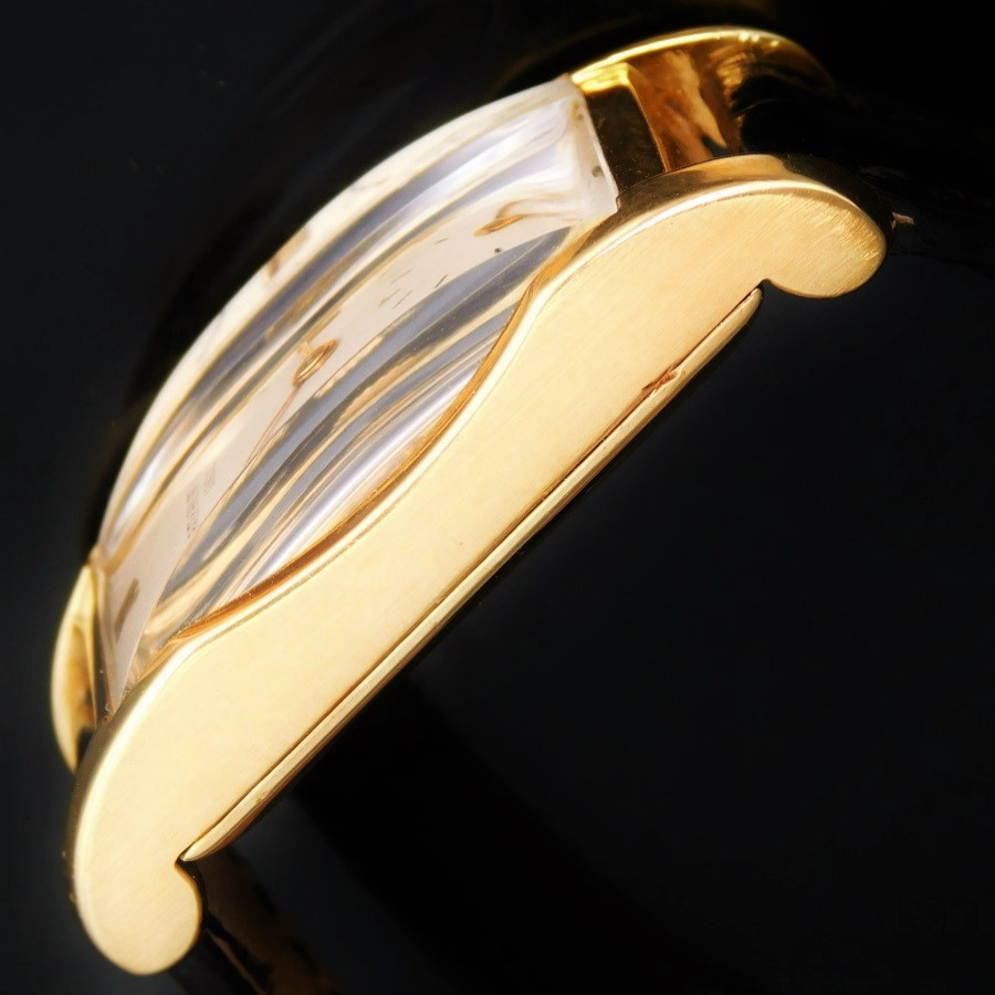 "★★★ PATEK PHILIPPE ★★★ 18K Solid Gold ""REQUTANGULAR"" Orignal Silver Dial☆18金無垢シャンパンゴールド - レクタンギュラー角型 – オリジナル純正シルバーダイアル Ref.1499/Cal.9-90のサムネイル"