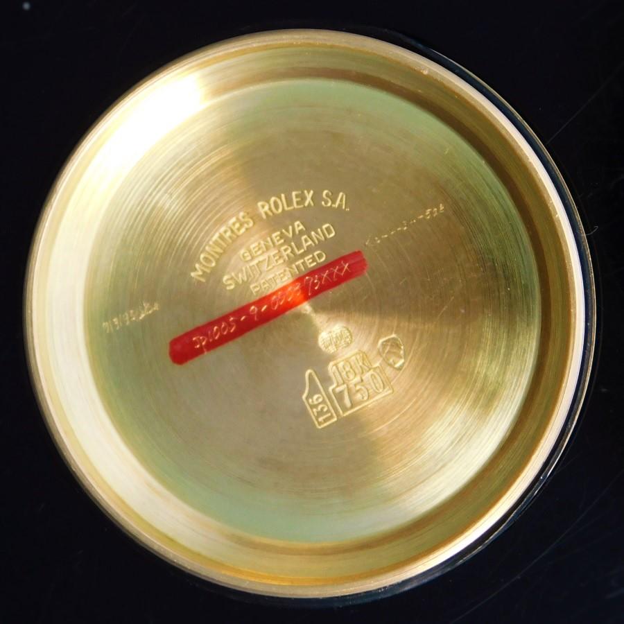 """★★★ R O L E X ★★★  18k Solid Gold & Black Dial """"COSMOGRAPH DAYTONA"""" W/Estimated Rolex Geneve☆18金無垢 & ブラックダイアル """"コスモグラフ デイトナ"""" ロレックス ジュネーブ見積書付属  BRACE Ref.6265/8 Cal.727のサムネイル"""