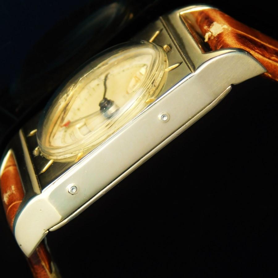 "★★★ LeCoultre(Jager-LeCoultre) ★★★  LEGEND..RECUTANGULAR CALIBER – TRIPLE CALENDAR & MOONPHASE☆伝説…レクタンギュラー キャリバー – トリプルカレンダー&月齢  Hommage Model for ""Jacques-David LeCoultre"" limited 1949's☆3代目CEO""ジャック―ダビドゥ ルクルト"" 1949年オマージュモデル Cal.806のサムネイル"