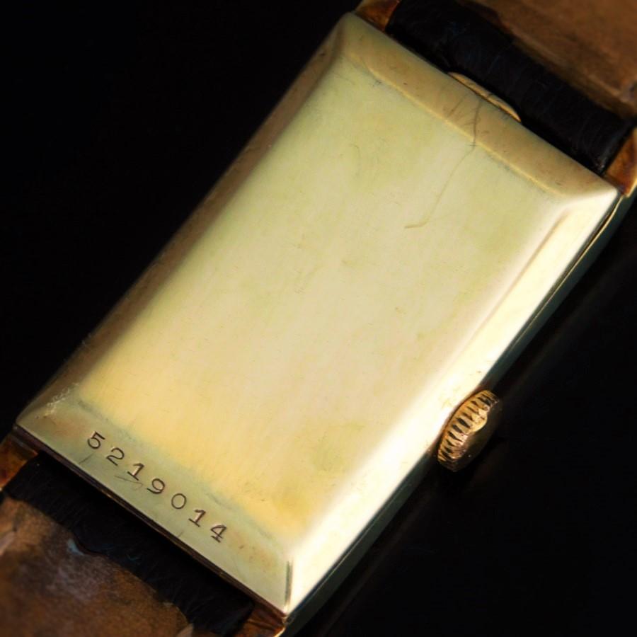 """★★★ LONGINES ★★★  14K Solid Gold """"SUPER SOLO TANK DOCTORS DUO DIAL """" In 1933's☆ドクターウオッチ伝説キャリバー9.32☆18金無垢★ロンジン スーパーソロタンクドクターデュオダイアル★1933年頃製造のサムネイル"""