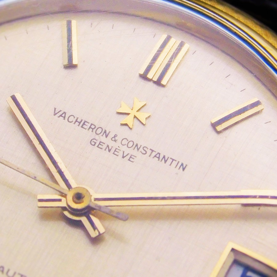 """★★★ VACHERON & CONSTANTIN ★★★  The First """"18K SOLID GOLD GUILLOCHE ROTER"""" Auto Cal.1072☆ザファースト """"18金無垢ギョーシエローター"""" 自動巻 Cal.1072 Ref.6394-Qのサムネイル"""