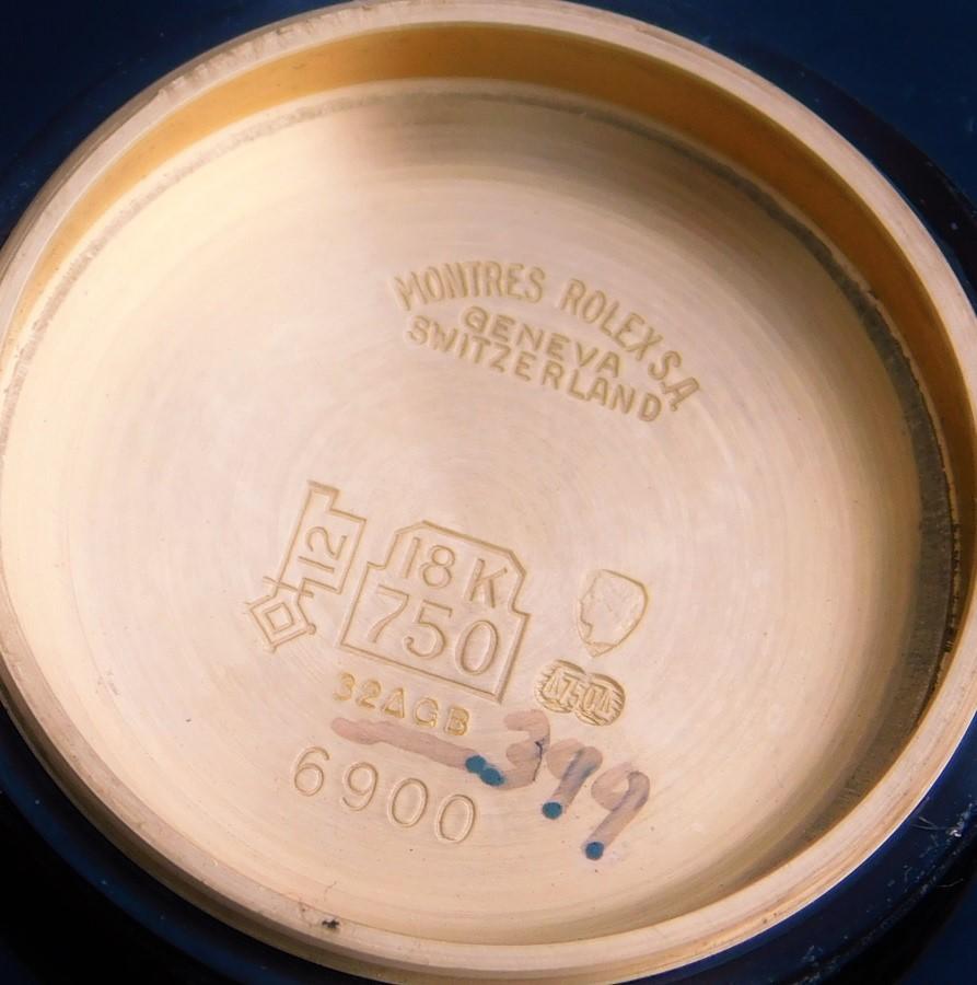 ✩✩✩ ROLEX ✩✩✩ All Factory Original 18k Solid GoldーTotal 1.3 Karat Diamonds★オール純正18金無垢シャンパンゴールド 0.1ct×ダイヤ-トータル1.3カラット DATEJUST / Ref.6917 Cal.2030のサムネイル