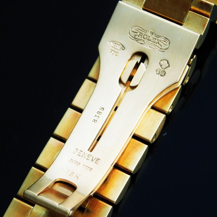 "★★★ R O L E X ★★★  100% Factory Orignal ""Diamonds Bezel & Dial"" DAY-DATE 18k Solid Gold✩ロレックス純正ダイヤモンドベゼル&ダイアル ""オイスターパーペチュアル デイデイト"" 18金無垢 Ref.18388/Cal.3155のサムネイル"