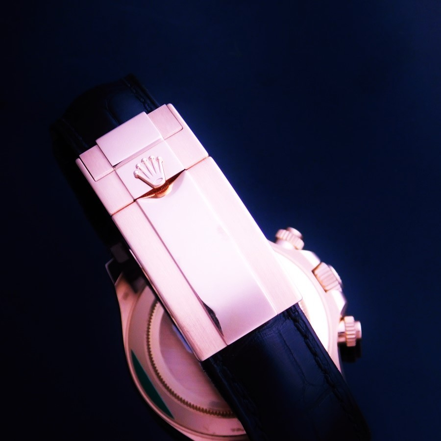 "★★★ ROLEX ★★★ Black Ceramic Bezel ""NEW DAYTONA"" 18k Solid Ever Rose Gold☆ブラック セラミックベゼル ""ニューデイトナ"" 18金無垢エバーローズゴールド Ref.116515LN/Cal.4130のサムネイル"