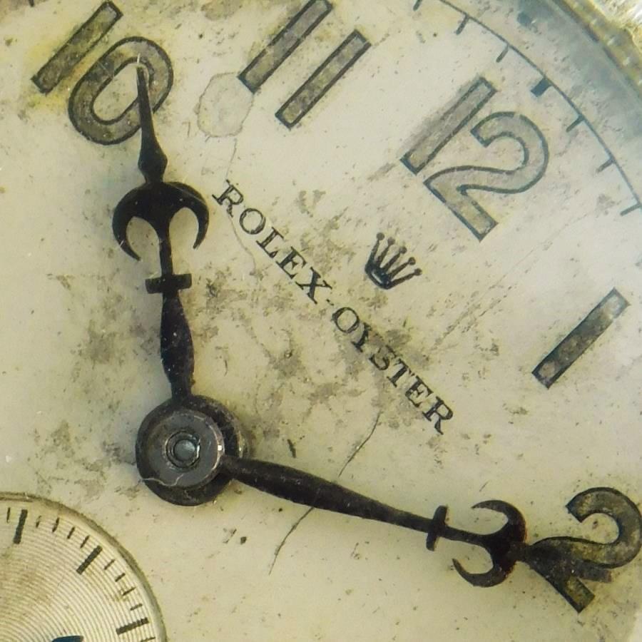 "★★★ R O L E X ★★★ Cushion Engine Screw Down Bezel ""THE FIRST GENERATION WATERPRROF"" Circa 1925's☆オイスターファーストモデル1930年頃製造★ロレックス クッション Ref.1072★当社OH済みのサムネイル"