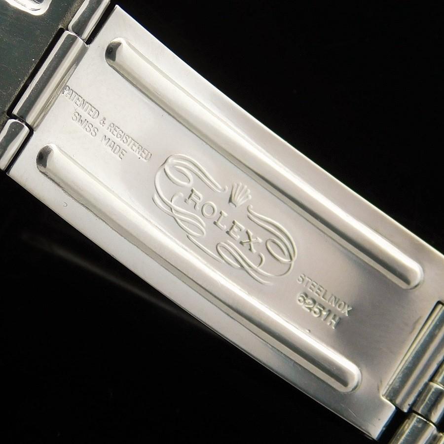"★★★ ROLEX ★★★ Stainless Steel & ""18K Solid Gold White Edged Bezel"" In 1964☆希少1964年製造☆18金無垢ホワイトゴールドエッジベゼル& すスティール★ロレックス デイトジャスト Ref.1601★1971年製造R.6251H/FF.55のサムネイル"