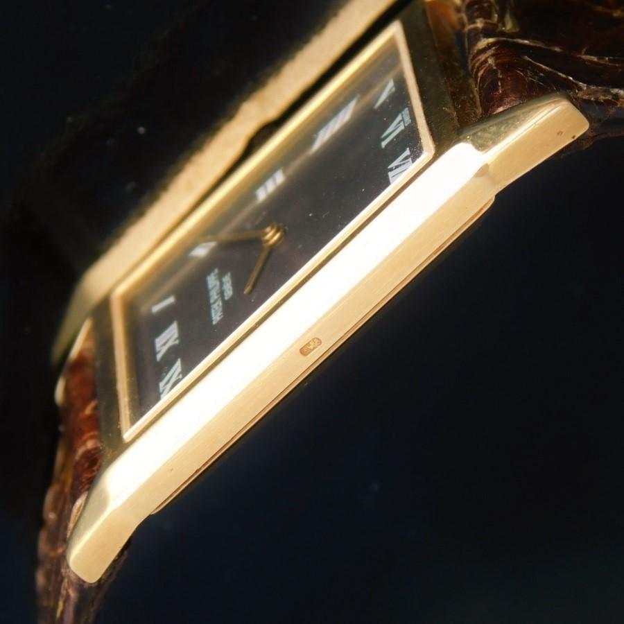 "★★★ PATEK PHILIPPE ★★★ 18K Solid Yellow Gold – THE SQUARE – All Roman painting Hour maker's☆18金無垢イエローゴールド ""ザ・スクエアー"" オールローマンアワーマーカーズ Ref.3572/Cal.175のサムネイル"