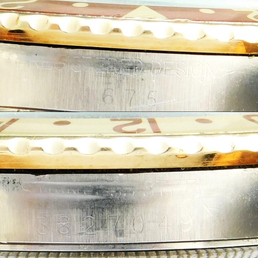 """★★★ ROLEX  ★★★  Oyster Perpetual """"GMT-MASTER 2'nd MODEL"""" Matte Brown☆オイスターパーペチュアル """"GMTマスター /セカンドモデル"""" マットブラウンダイアル Ref.1675/3 Cal.1570のサムネイル"""