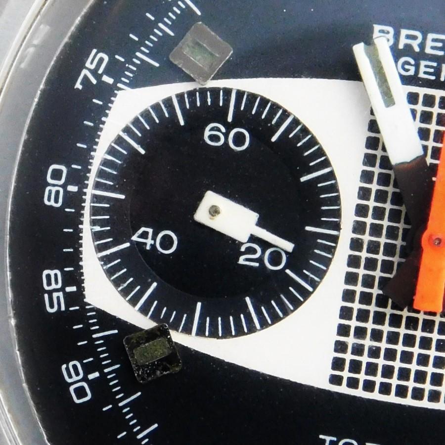 "★★★ BREITLING ★★★ the Meter Panel Dial ""TOP TIME"" Chronograph 2 Register☆激激希少極上美品メーターパネルダイアル37mmオーバーSS★ブライトリング トップタイム クッションRef.2211★1970年代最終7730キャリ搭載のサムネイル"
