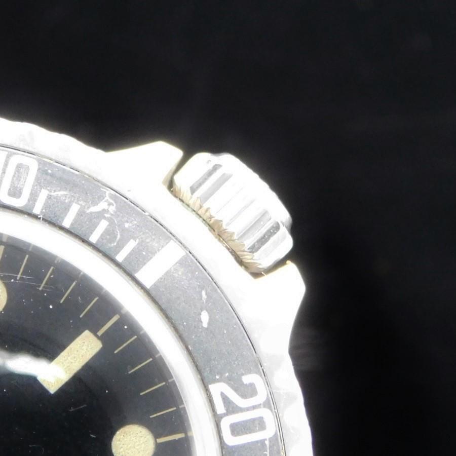 "★★★ R O L E X ★★★ Only 1963's story!Glossy Dial ""UNDER-LINE"" Top Square Crown Guard☆幻1963年☆ミラーダイアル/アンダーライン/トップスクエアーガード★ロレックス サブマリーナ Ref.5513★C.5512☆エクステンションリベットのサムネイル"