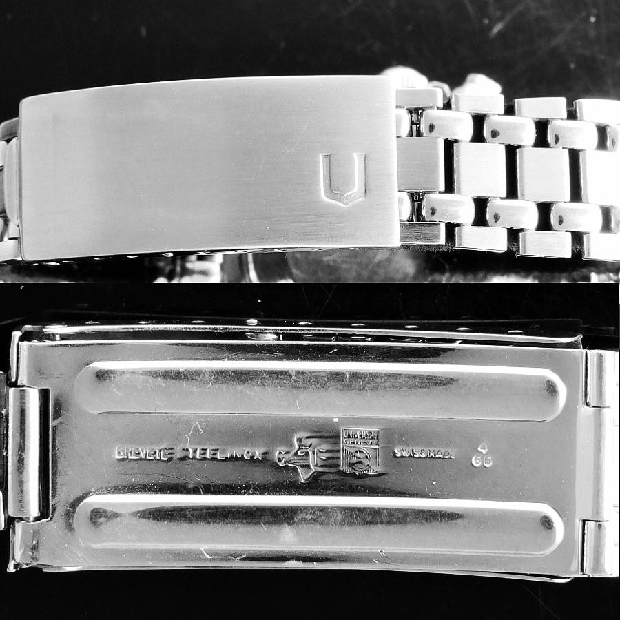 "★★★ UNIVERSAL GENEVE ★★★ ""SPACECOMPAX Mark Ⅱ"" Chronograph Ref.885104/02☆マーキュリー伝説☆幻1967年頃製造★ユニバーサル・ジュネーブ スペースコンパックス マーク2 Ref.885104.02★オールオリジナル☆Cal.72のサムネイル"