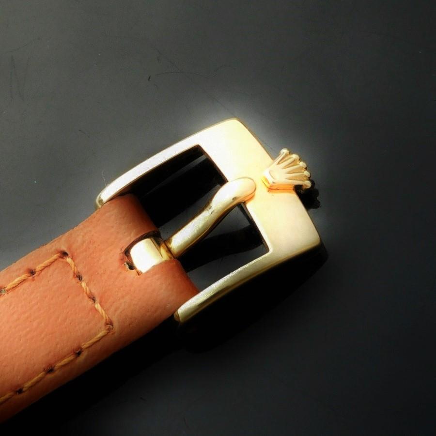 ★★★ ROLEX ★★★ 18K Solid Gold -CELLINI- 100% Factory Original 3P Diamonds Ref.4082☆激希少18金無垢3P純正ダイヤモンドダイアル★ロレックス チェリーニ Ref.4802★1990年代製造Cal.1601のサムネイル