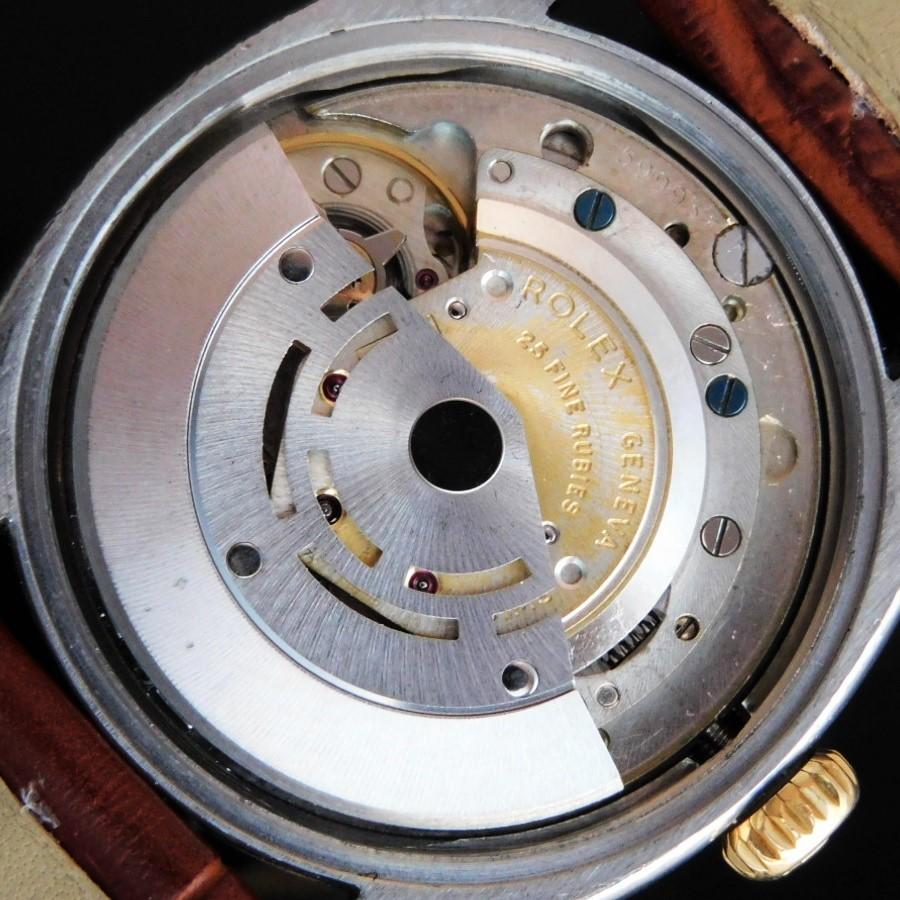 激激希少1960年製造☆楔型ラジウム夜光インデックス★ロレックス エクスプローラー デイト Ref.5701★18金無垢コンビ☆Cal.1530  ROLEX EXPLORER DATE Ref.5701のサムネイル