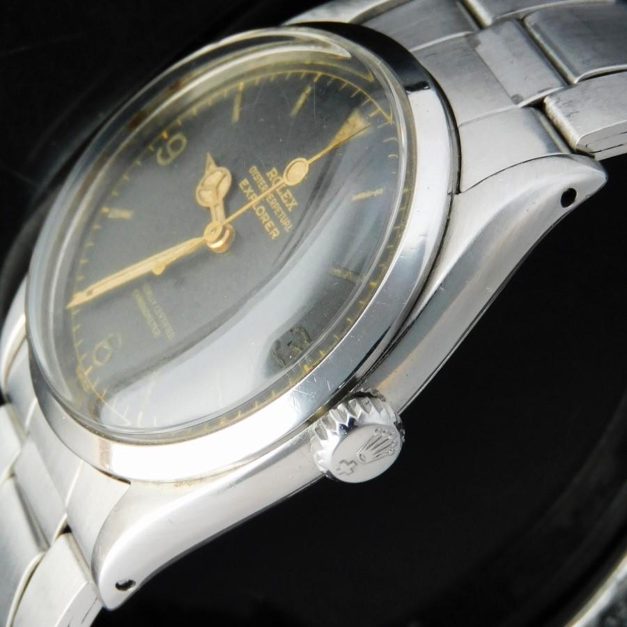 幻1956年ロレックス エクスプローラーRef.6610★ミラー&ギルトダイアル w/ラジウム夜光ビッグドット秒針&ロング分針★1030キャリバーのサムネイル