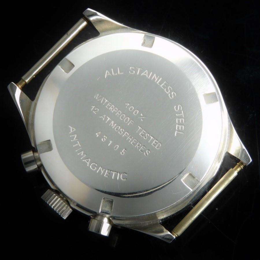 激激希少1970年代回転ワイドベゼル★LIPリップ ミリタリークロノグラフ★キャリバーCal.7734☆120m防水.耐磁モデルのサムネイル
