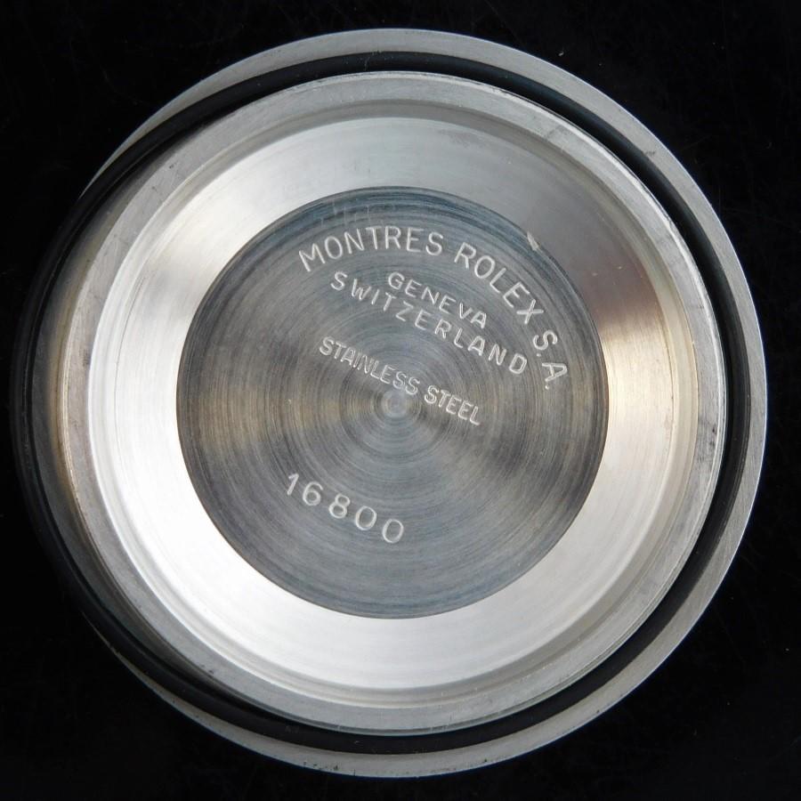 1986年製造サークルインデックス★ロレックス サブマリーナデイト Ref.16800★Cal.3035☆ブレスRef.93150/FF.593のサムネイル