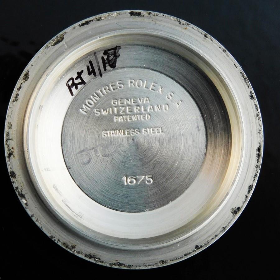 1979年最終フジツボ14金無垢&SS希少グロスダイアル★ロレックス GMTマスター Ref.1675/3★18K&SSジュビリーハード62523H.FF.402のサムネイル