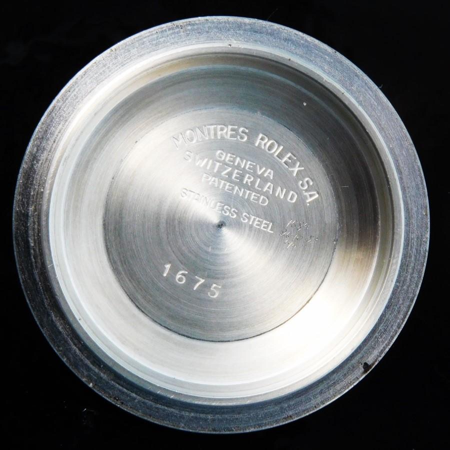 ★1976年製造14金無垢&SSフジツボブラック★ロレックス GMTマスター Ref.1675/3★希少JOKE'S MEXICO純正ジュビリー14K&SSブレスのサムネイル