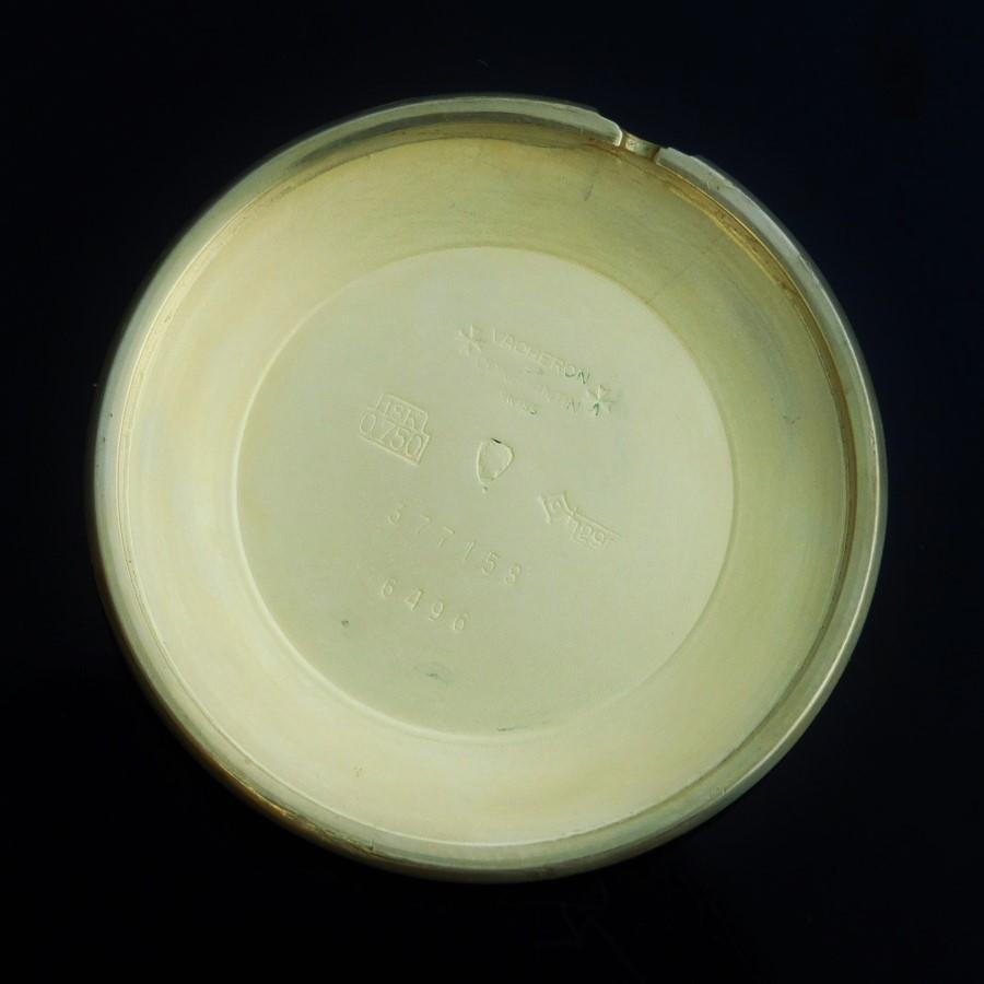 激激希少18金無垢彫金ラウンドスリム&フーデッドラグ★ヴァシュロン・コンスタンタン Ref.6496★名機1001キャリバーのサムネイル