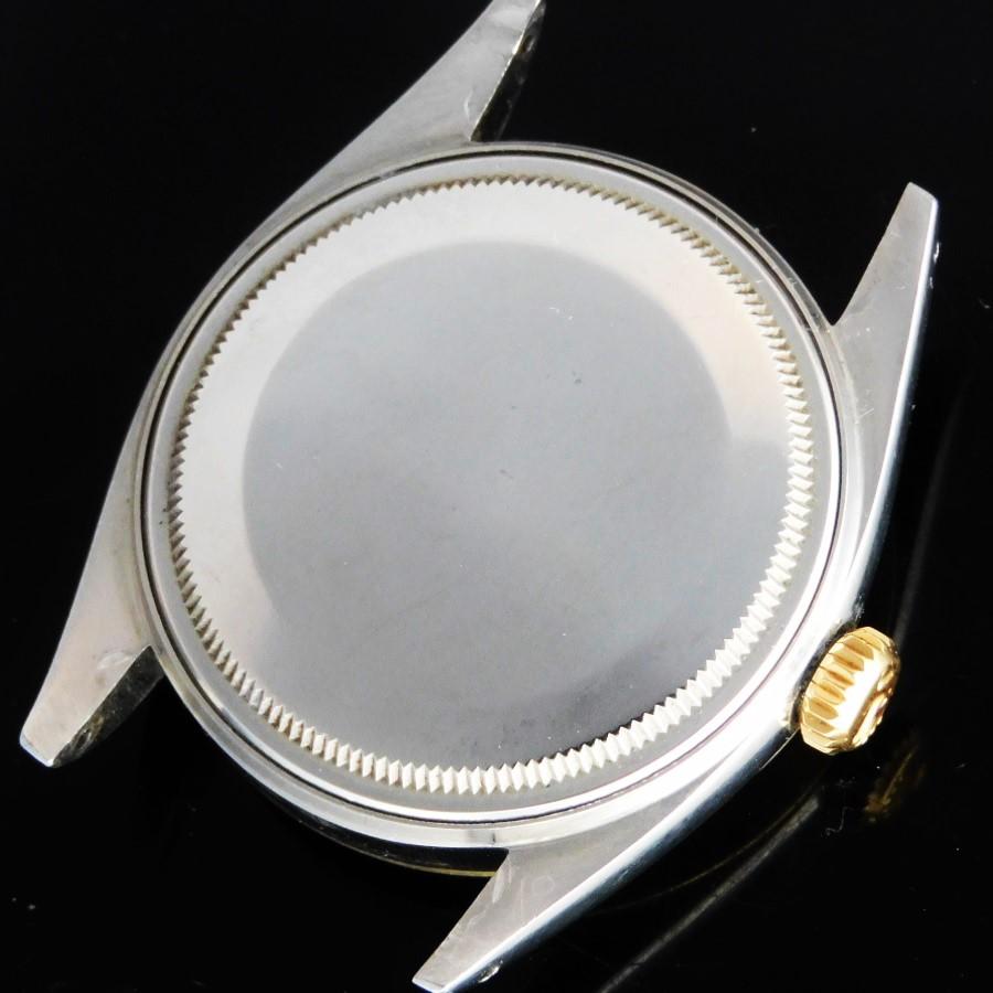 1962年極上美品14金無垢スムースベゼル&スティール★ロレックス デイトジャスト Ref.1600★当時のままのオリジナルコンディション☆Cal.156のサムネイル