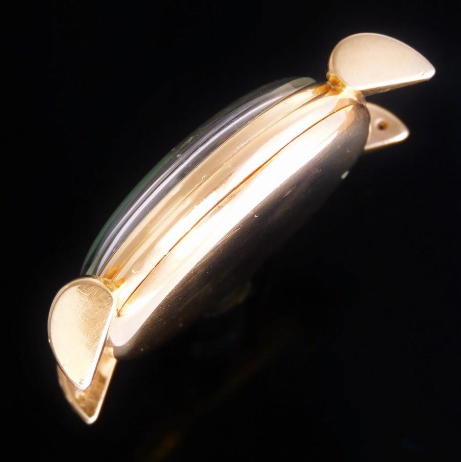 18金無垢ティアドロップラグ35mmオーバー★IWCインターナショナルウオッチ★名機89キャリバー☆1952年頃製造のサムネイル