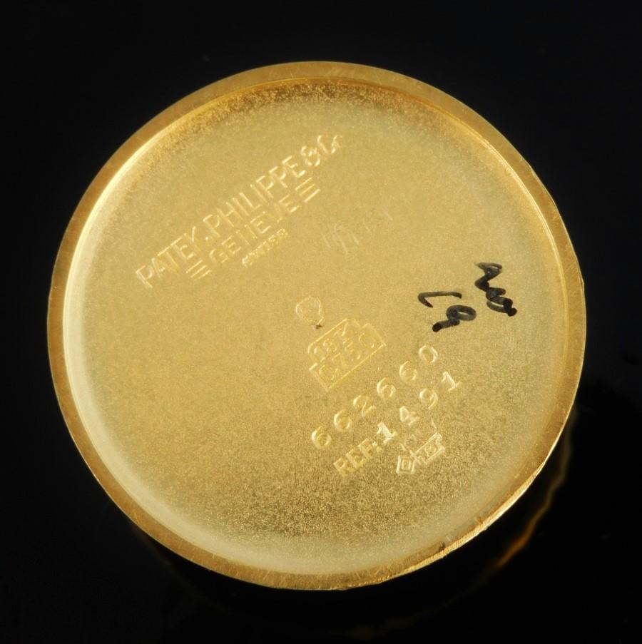 1951年アーカイブ18金無垢★パテック フィリップ スーパーラウンド スクロールラグ Ref.1491★名機12系120機のサムネイル