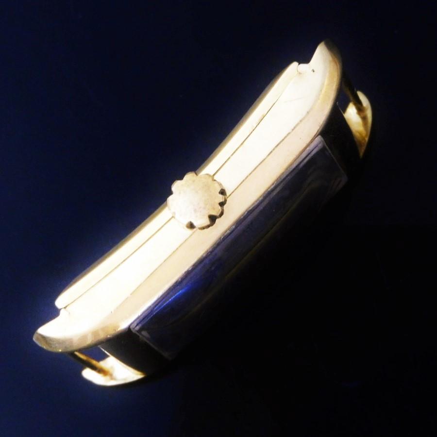 18金無垢フレンチケース1934年製造★ロンジン タンクドクターウオッチ★伝説キャリバー9.32デュオダイアのサムネイル