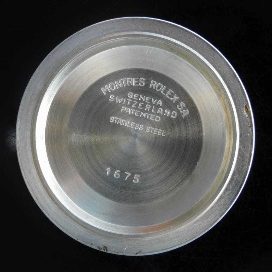 1972年14金無垢SSコンビ☆フジツボブラウン★ロレックス GMTマスター Ref.1675/3★名機Cal.1570☆純正14金無垢コンビ3連巻7836/3.FF385のサムネイル