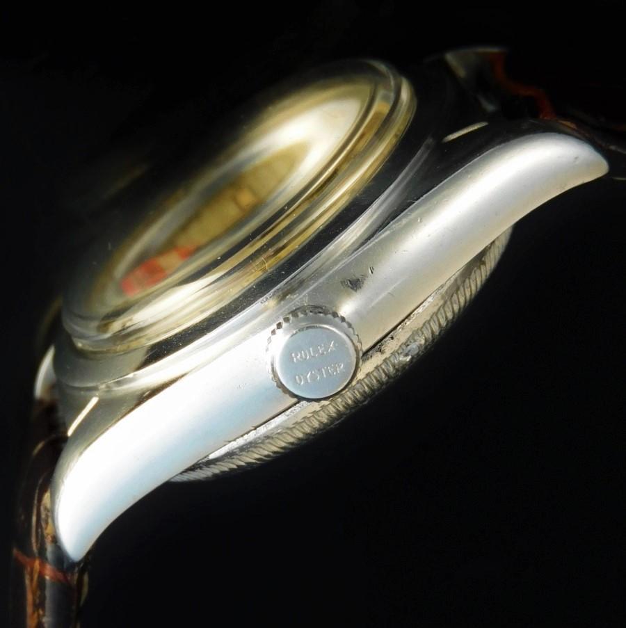純正ユニークローマン&アラビックラジウム夜光文字盤★ロレックス バブルバック Ref.2940★1943年頃のサムネイル