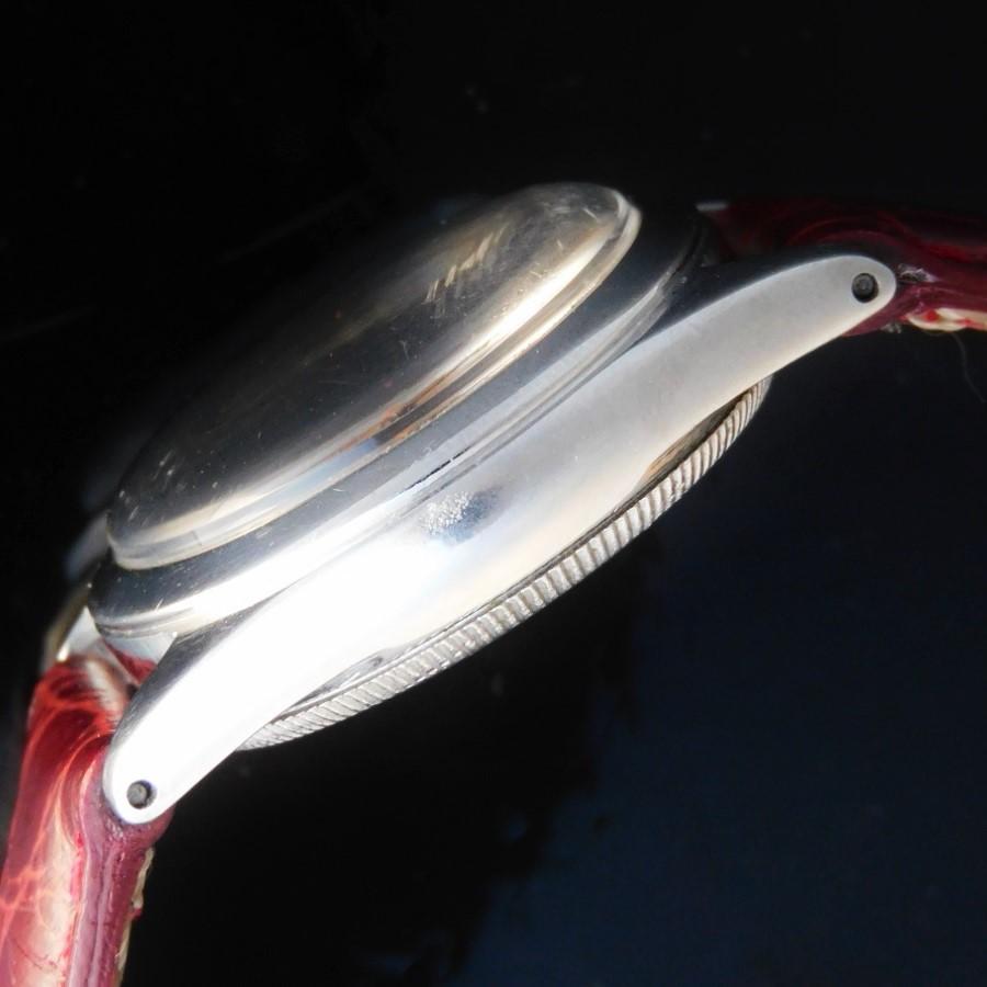 激激希少1937年頃製造☆純正ラジウム夜光ユニークダイアル★ロレックス オイスタースピードキングRef.4220★Cal.710スーパーバランステンプのサムネイル