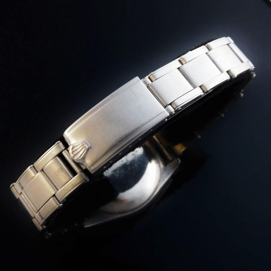 激激希少1950年頃製造最終ビッグバブルバック★ロレックス スーパープレシジョン Ref.6050★純正夜光スモセコダイアルのサムネイル